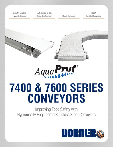 AquaPruf Conveyors Brochure
