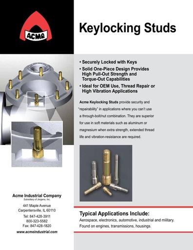 Keylocking Studs