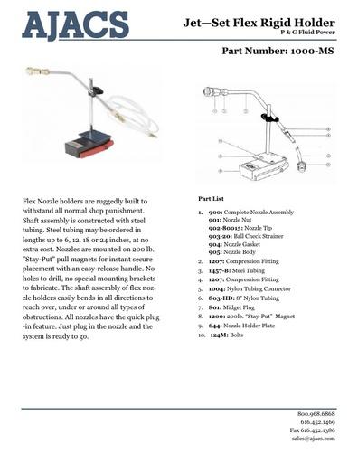 Jet-Set Flex Rigid Holder