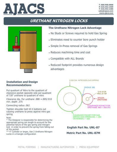 Urethane Nitrogen Lock