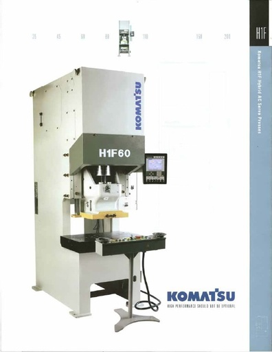 Servo Presses - Gap Frame - H1F Series
