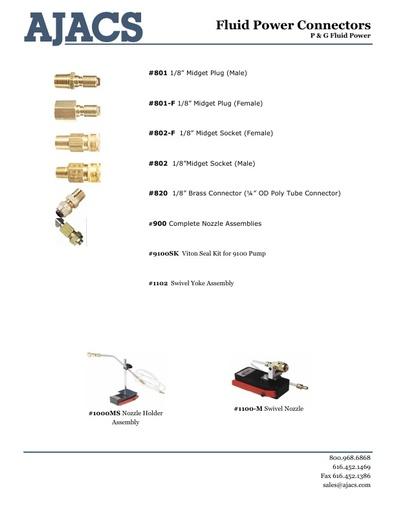 Fluid Power Connectors
