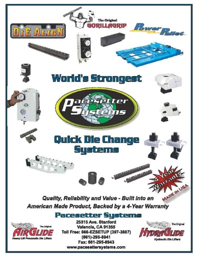 Quick Die Change Systems Catalog
