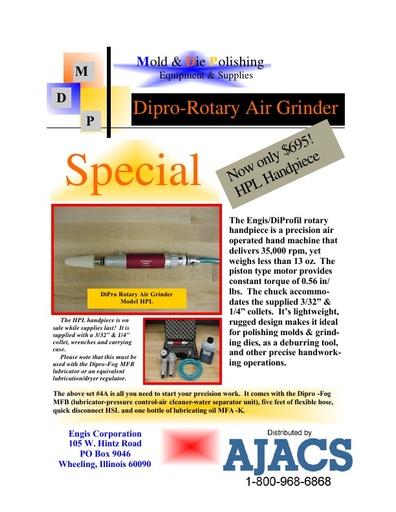 Diprofil Rotary Air Grinder