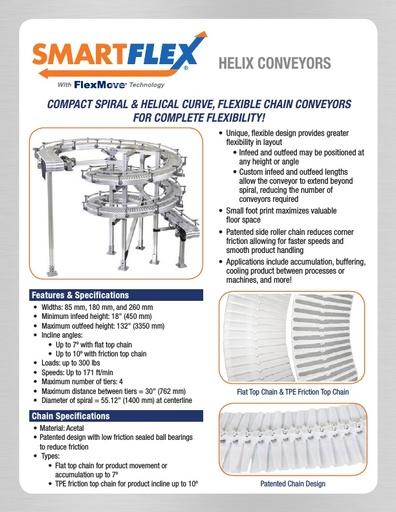 SmartFlex Helix Conveyors