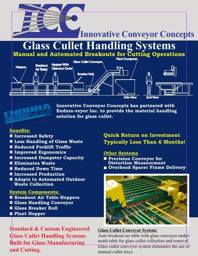 Glass Cullet Handling Systems