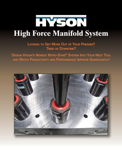 High Force Manifold System