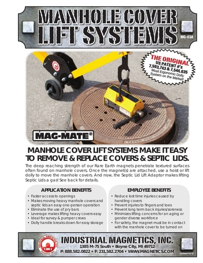Manhole Cover Lift System