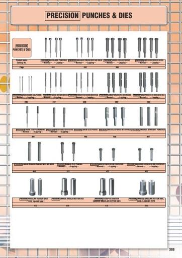 Misumi Catalog Pg 388-416 - Precision Punches & Dies
