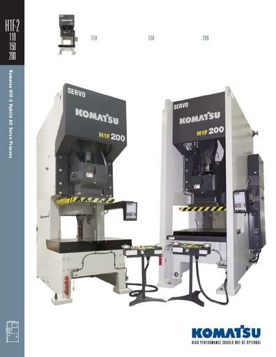 H1F-2 Hybrid AC Servo Presses