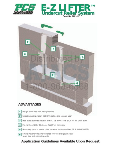 Undercut and Relief Systems