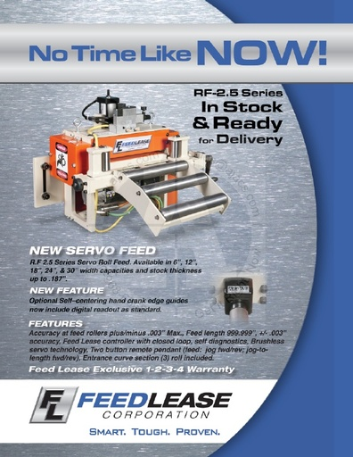 Small Servo Feeds Brochure