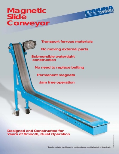 Magnetic Slide Conveyor