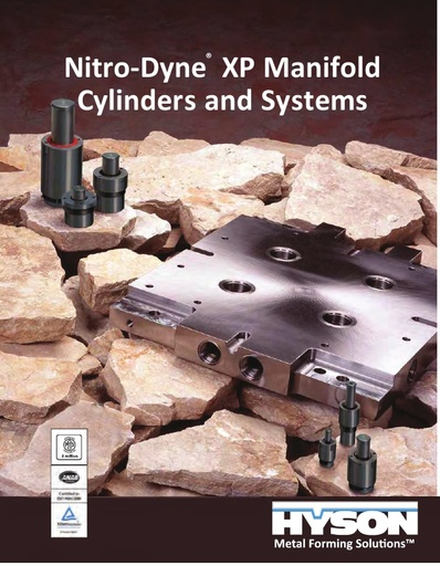 Nitro-Dyne XP Manifold Cylinders and Systems