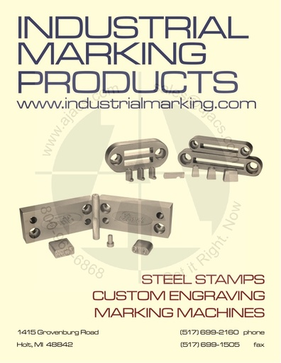 Industrial Marking Products Catalog