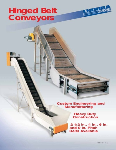 Hinged Belt Conveyors