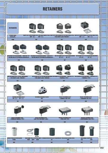 Misumi Catalog Pg 612-644 - Retainers