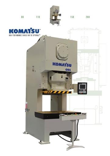 Mechanical Press - Gap Frame - OBS 80-200 Ton Type 6